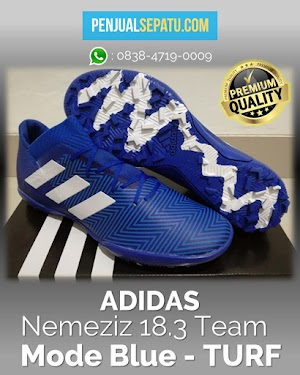 Futsal Adidas Nemeziz 18.3 Team Mode Blue - TURF