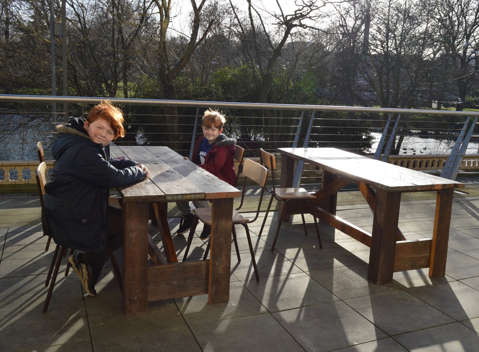 5 Reasons to Visit the Leonardo da Vinci: A Life in Drawing Exhibition at Sunderland Museum & Winter Gardens with Kids - outdoor seating at holmside coffee