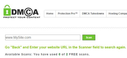 DMCA tool