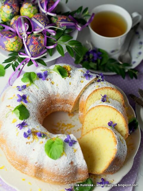 babka o smaku cytrynowym, babeczka wielkanocna, baba na wielkanoc, cytryna, kisiel cytrynowy, wielkanocne menu, co upiec na wielkanoc, ciasto cytrynowe, domowe ciasta, ciasto na niedziele
