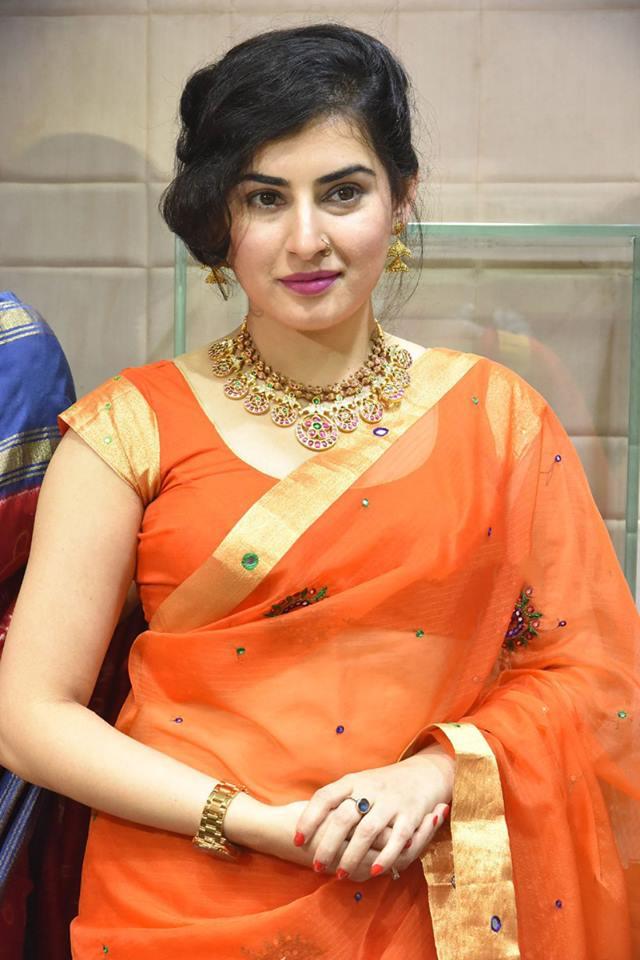 Archana Veda Latest Pics In Transparent Saree Latest Photos
