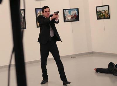 Duta Besar Rusia Ditembak Polisi Turki