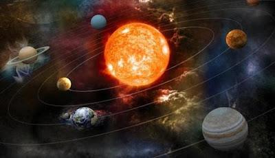 Planet Kesembilan Penyebab Kemiringan Sumbu Matahari