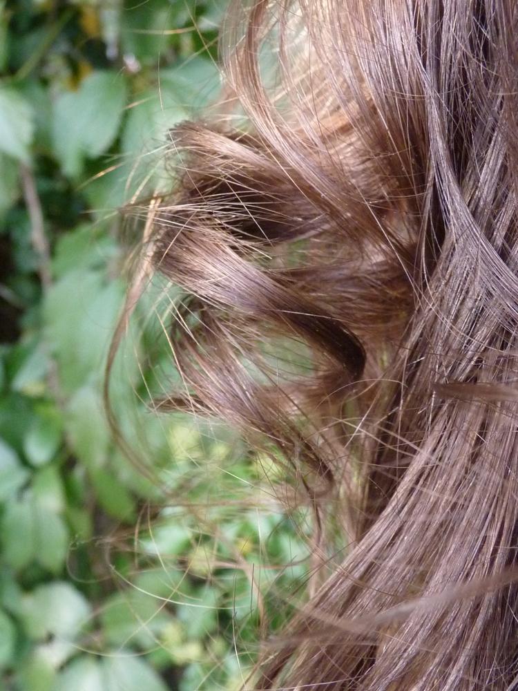 Lockenbildung bei Water Only Haarwaschmethode