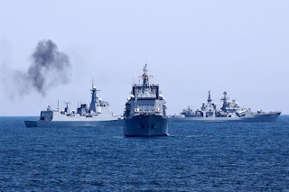 Latihan Gabungan Iran Rusia dan China