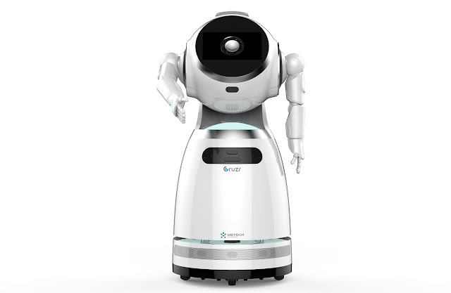Robô humanoide Cruzr chega a Portugal