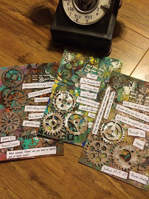 Joshua Devotional Art Cards by Lynn Shokoples