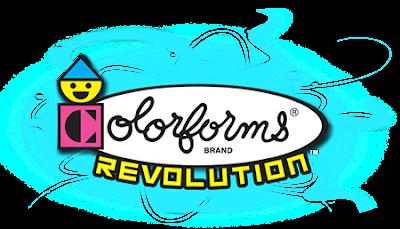 Colorforms Revolution Logo