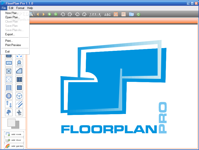 Floorplan pro floor plan software free download software - Free floor plan software ...
