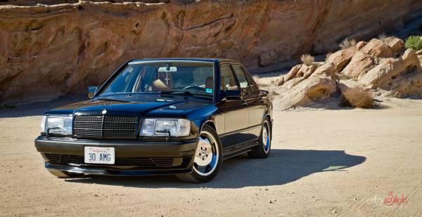 Daily Turismo Baby Hammer 1987 Mercedes Benz 190e Amg 3 2 Liter