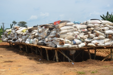 Photos: NDLEA destroys 14 metric tonnes of prohibited drugs in Oyo State