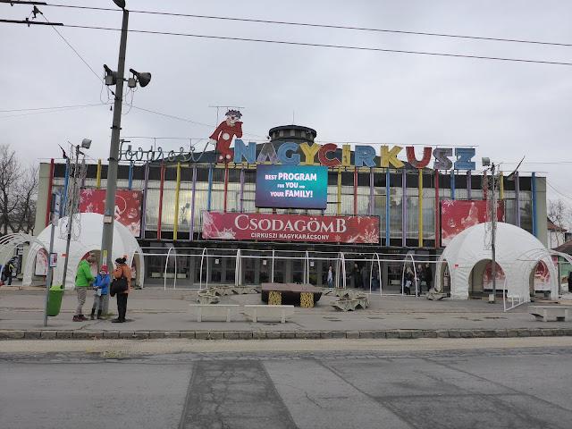 Cirque de Budapest Hongrie