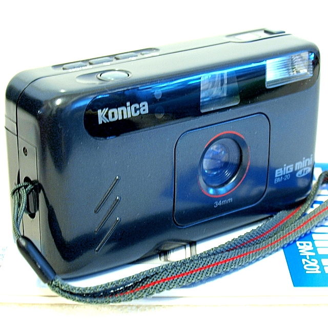 Konica Big Mini Jr. BM-20 35mm Camera
