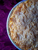 Sartù di riso in rosso ai peperoni con polpette di melanzana