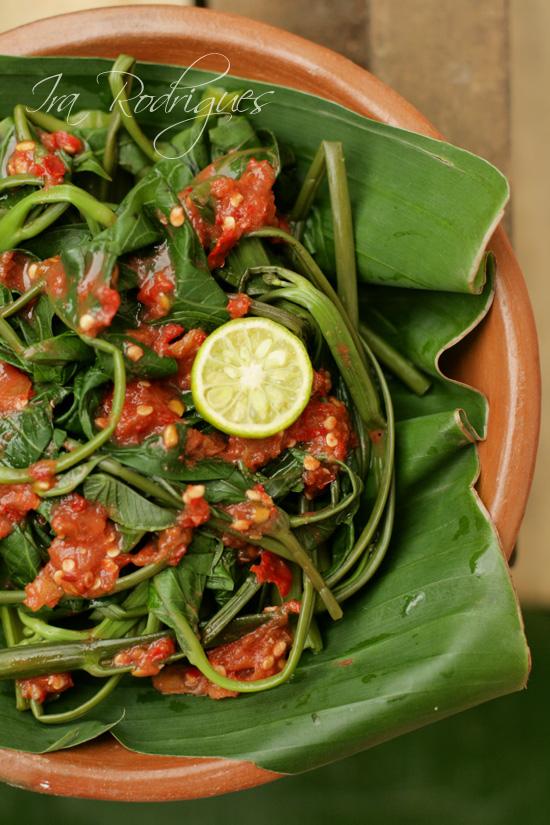 indonesian kangkung recipe