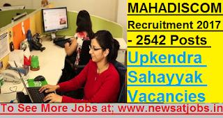 MAHADISCOM-2542-Upkendra-Sahayyak-Various-Vacancies