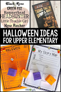 Here are some easy ways upper elementary teachers can bring Halloween fun into your classroom!