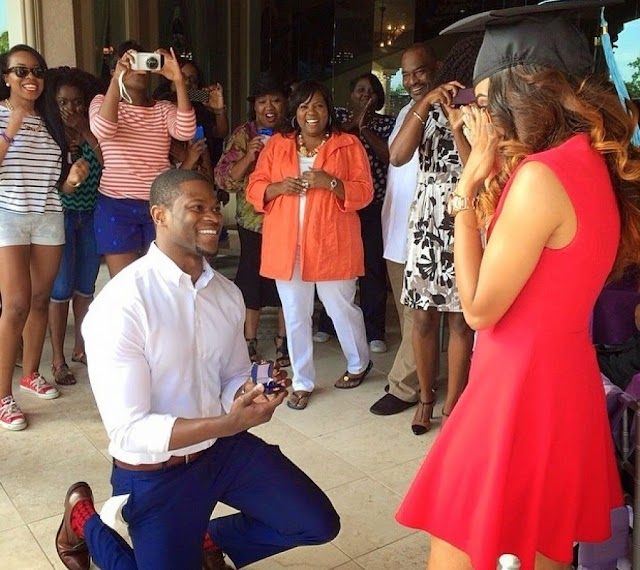 Husband Of 21 Years Re-Proposes To His Nigerian Wife (Photos)