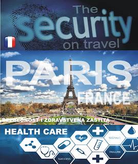 Pariz, Francuska – Bezbednost i zdravstvena zaštita