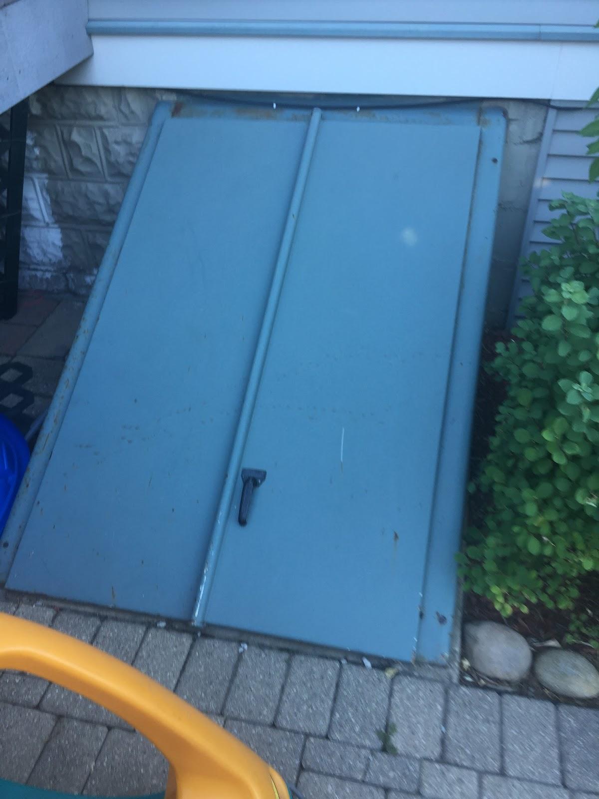 Mysteries Of Life September - Metal basement doors