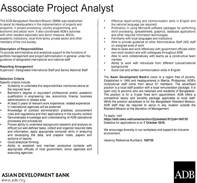 Asian Development Bank Projects 6