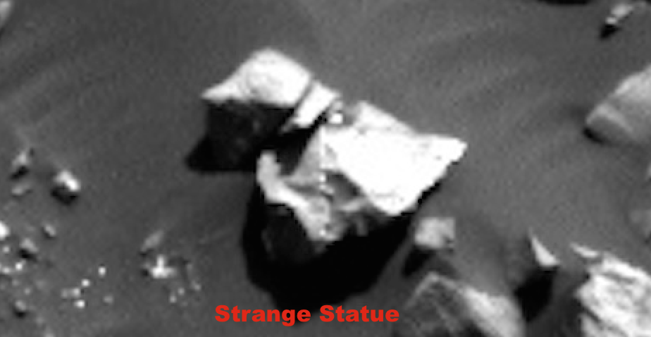 UFO SIGHTINGS DAILY: NASA Rover Crushes Valuable Alien Evidence In