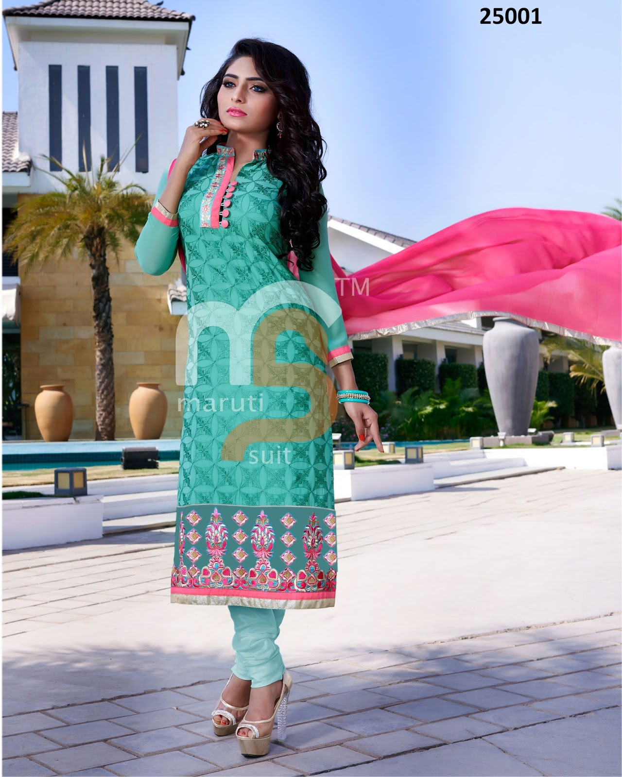 Sanam Re – Stylish Faux Georgette Designer Salwar Suit