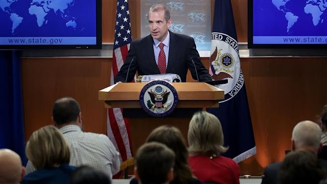 US repeats its condemnation of Russia's reunification with Crimea