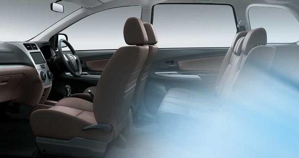 Tampilan Bangku Toyota Grand New Avanza
