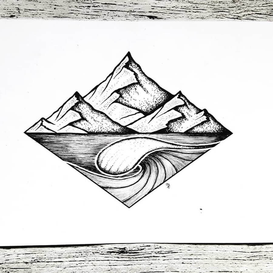 09-Wave-Mountain-Mandy-Razik-www-designstack-co