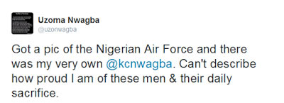 Check out this epic photo of Nigerian Airforce troops