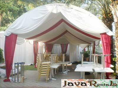Penyewaan Tenda Canopy - Pernikahan