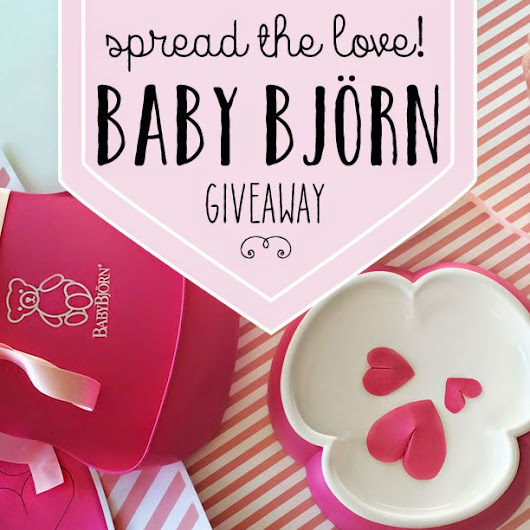 Spread the Love Giveaway with BabyBjorn!