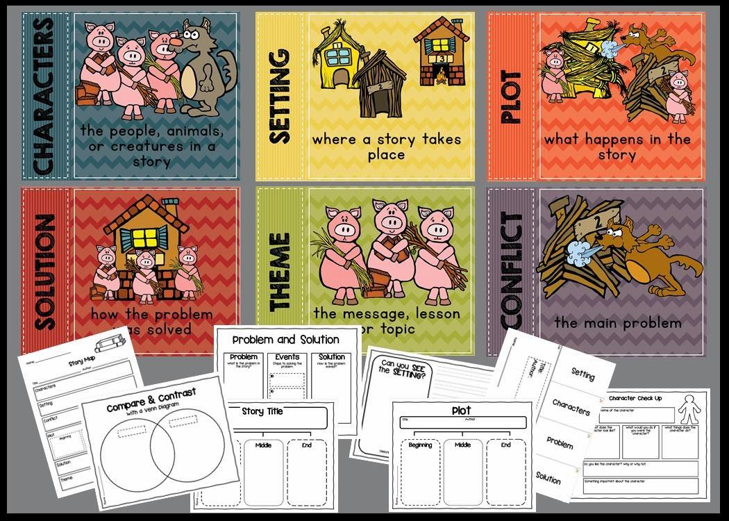 Lory's 2nd Grade Skills: Story Elements \u0026 giveaway [ 750 x 1050 Pixel ]