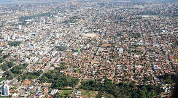 Rondonópolis MT foto aérea