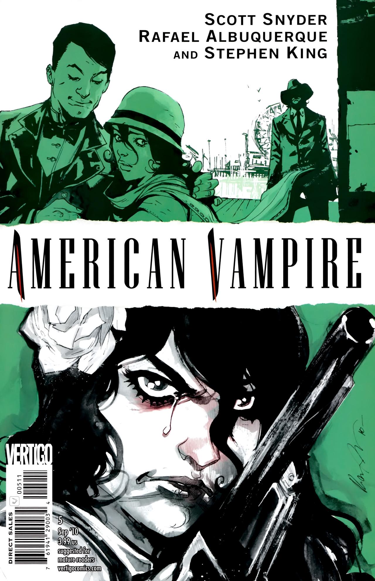 Read online American Vampire comic -  Issue #5 - 1