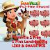 Farmville 2 Free 1 Pink Landrace Pig x  (Mystery Box Gifts )
