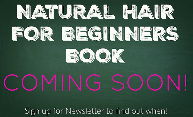 Natural Hair For Beginners Book