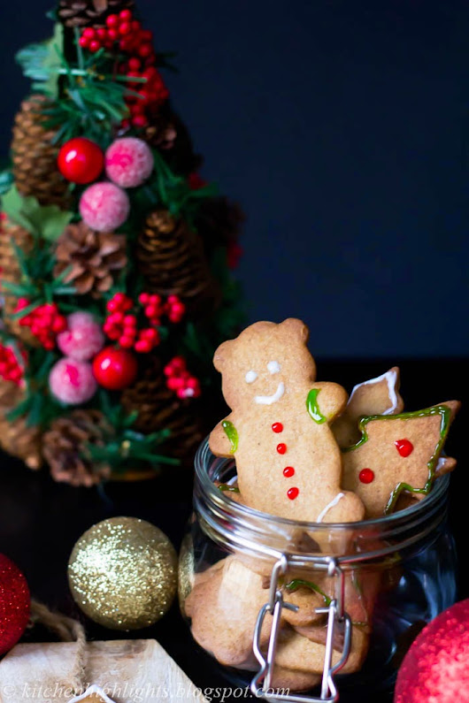 Gingerbread Cookies - Merry Christmas!
