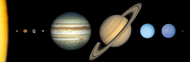 Tata Surya : Asal-Usul Tata Surya, Planet-Planet, Gerakan Planet, dan Anggota Tata Surya Lainnya