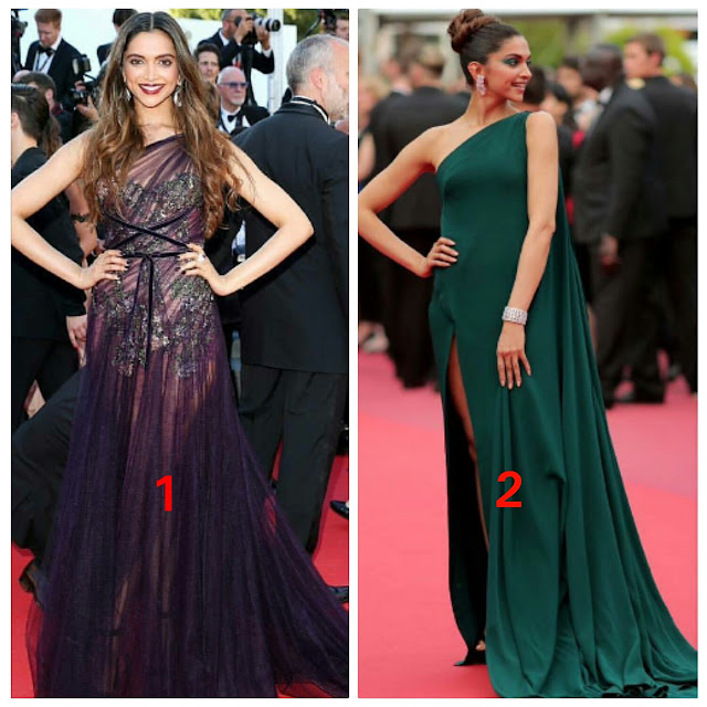 Deepika Paduknoe At Cannes 2017