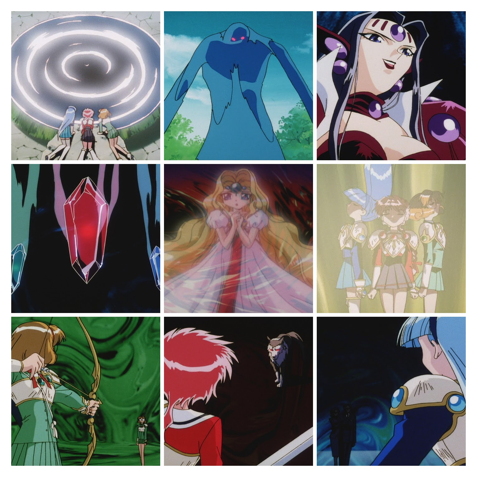 Magic knight Rayearth - Episódio 05.