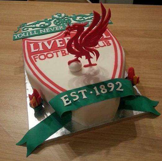 Foto Kue Ulang Tahun Liverpool