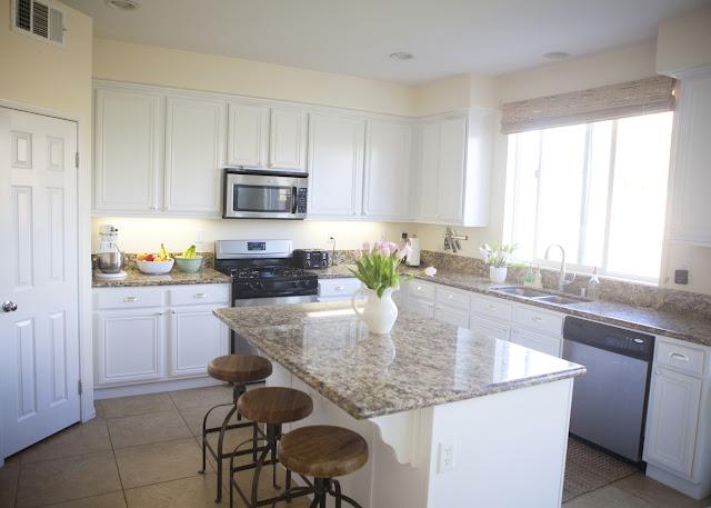Lillie's Blog: My New White Kitchen
