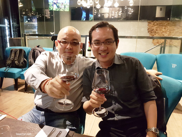 It was a good night at The Point Restaurant & Bar KL