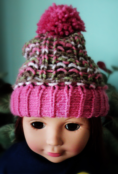 Loom Knitting Projects: Loom Knit Doll Hat Project -- The ...