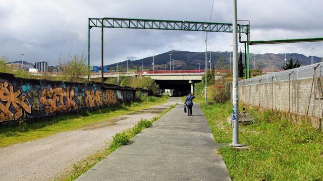 Túnel entre Lutxana y la estación de metro de Ansio