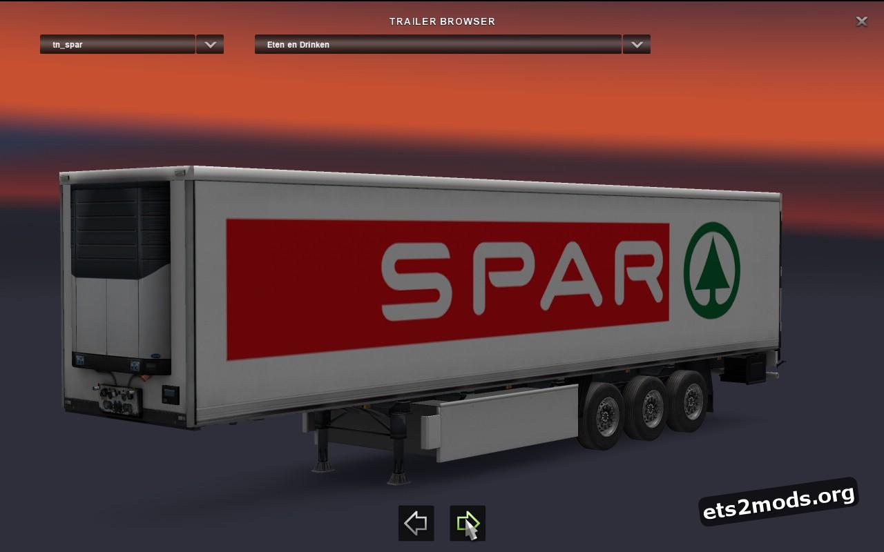 Standalone Spar Trailer