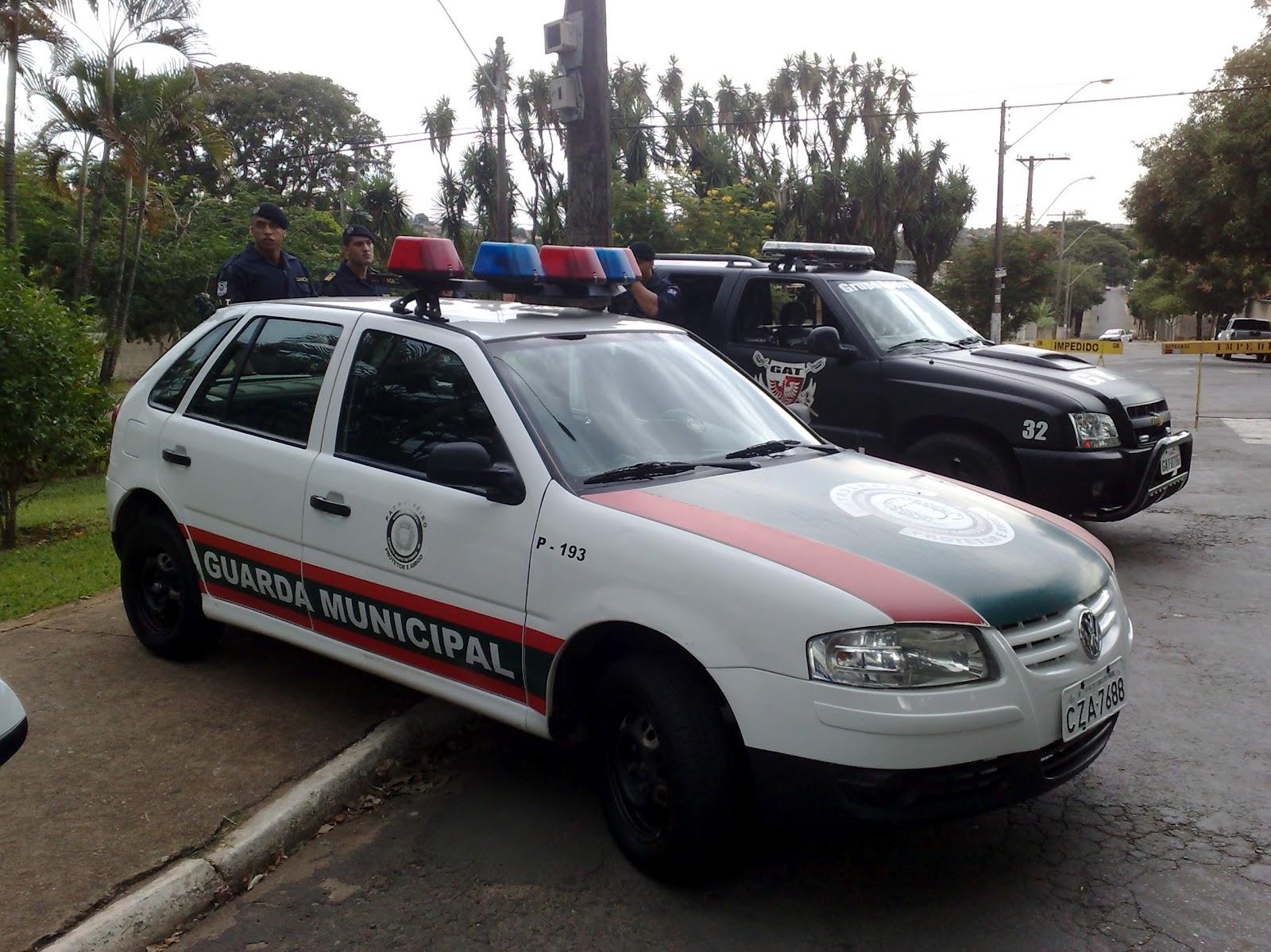 Guarda Municipal armada reduz a criminalidade e dá mais segurança aos cidadãos