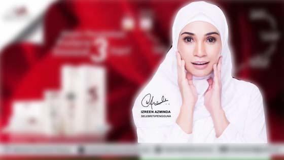 Gara-Gara Kontroversi, Kontrak Produk Kecantikan Izreen Azminda Ditamatkan